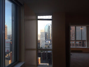 One Bedroom available immediately in a luxury building.