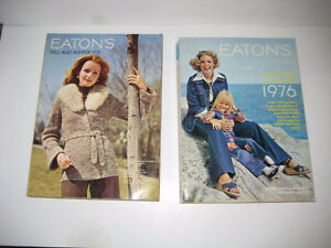 Eaton's Catalogues 1975 and 1976