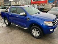 2013 Ford Ranger LIMITED 4X4 DCB TDCI Pick Up Diesel Manual