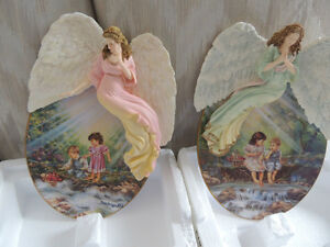 REDUCED BRADFORD ANGEL SCULPTURE PLATES