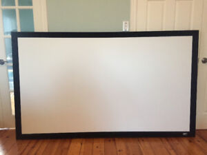 """92"""" SABLE FIXED FRAME PROJECTOR SCREEN"""