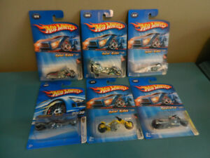 Hot Wheels Motorcycles Various Lot of 6 Sealed