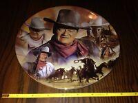 John Wayne Bradford exchange plate dukes centennial