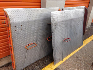 DOCK BOARDS, DOCK PLATES, ROLLING LADDERS