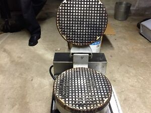 Waffle Cone Maker and Supplies