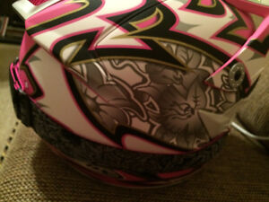 Womens Zox Ltd Ed. Pink Helmet with Pink Fox Goggles Brand New X Cambridge Kitchener Area image 5