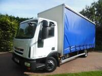 2012 Iveco/ Seddon Eurocargo 7.5T LWB CURTAINSIDE WITH TAIL LIFT