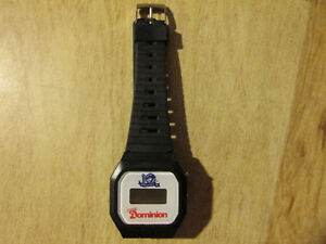 1986 TORONTO BLUE JAYS Baseball Watch Vintage Dominion 10 Season