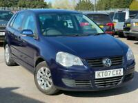 2007 Volkswagen Polo 1.4 SE TDI 80 5DR FSH 2 KEYS LOTS £30 ROAD TAX FOR A YEAR H