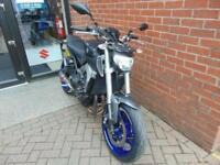 2014 (14) YAMAHA MT-09 - R&G BITS PLUS AKRAPOVIC EXHAUST - SPITS FLAMES