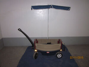 chariot Little tikes deluxe wagon