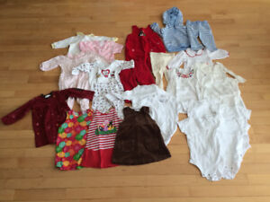 Baby girl clothes - 9-12 months