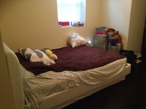 One room for rent w/private washroom in a two bedroom apartment