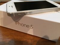 Apple iPhone 5 - White/Silver - 16 GB