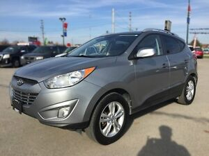 2011 HYUNDAI TUCSON GLS * POWER GROUP * LEATHER/CLOTH * BLUETOOT London Ontario image 2
