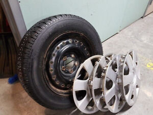 Decent condition BF Goodrich Winter Slalom Tires and Rims!!!