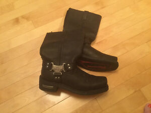 Milwaukee Leather Motorcycle Boots