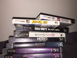 Some games for DS and 3DS