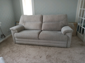 G Plan Washington settee and electric recliner chair