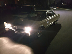 1967 CHRYSLER NEWPORT CUSTOM 115000 ORIGINAL MLS
