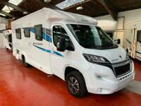 COMPASS AVANTGARDE 185 BRAND NEW UNREGISTERED SINGLE BEDS REAR SEATBELTS