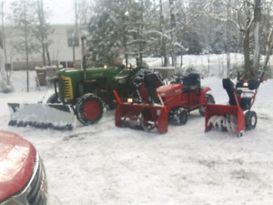 Snow Removal for driveways small and large