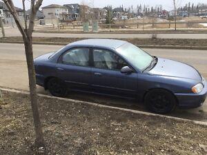 2003 Kia Spectra Sedan
