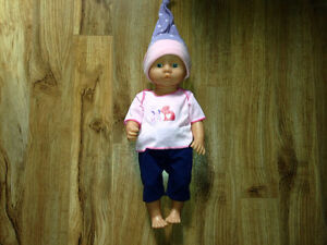 Doll, doll clothes and accessories