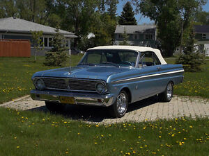 Rare 1965 Ford Falcon convertible Only 124 built in this model .