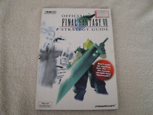 Official Final Fantasy VII Strategy Guide, Playstation Version 1