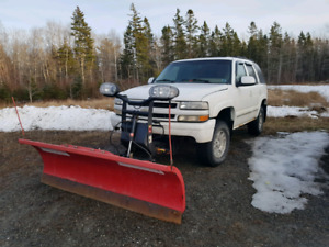 2004 chev tahoe with 7.6 boss superduty blade