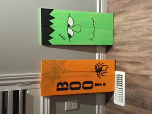 Halloween signs! Kitchener / Waterloo Kitchener Area image 1