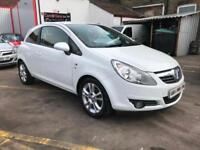 2010 Vauxhalll Corsa 1.2i 16v SXI 3 DOOR HATCHBACK VERY LOW MILES 34676