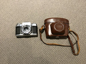 Zeiss Ikon Contaflex Camera and Accessories