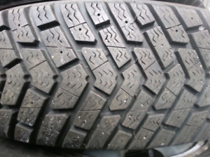 215/70/15 Goodyear Ultra Grip Winter tires