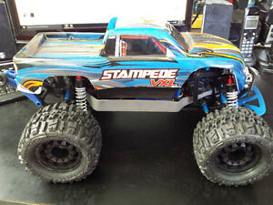 Just Built Traxxas Stampede NEW Model VXL-3S & 4-Pole Motor
