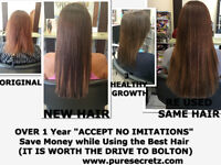 HAIR EXTENSIONS* NO COMPARISONS * NO IMITATIONS