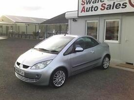 2008 MITSUBISHI COLT 1.5 CZC2 CONVERTABLE,ONLY 40,761 MILES,FULL SERVICE HISTORY
