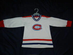 Canadiens sweater CCM 6X - 7 yrs