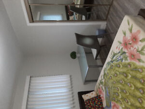 Clean and fully furnished room  in a detached house for rent