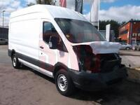2014 Ford Transit 350 2.2 High top DAMAGED REPAIRABLE SALVAGE