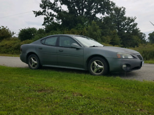 2005 Pontiac grand prix with 240000kms