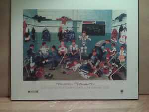 Terry Tomalty Print 50th NHL All-Star Game Toronto 2000