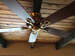 Antique Bronze Ceiling Fan