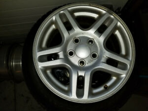 Aluminum Rims (no tires) 5 x 114.3   7Jx16 ET45