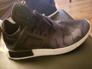 "Mens adidas NMD XR1 ""duck camo"" Boost shoes"