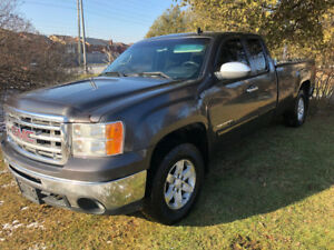 2010 GMC Sierra 1500 SLE Z71 4x4 extended cab 8 foot box NO RUST