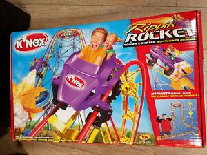 K'nex Rippin Rocket Roller Coaster