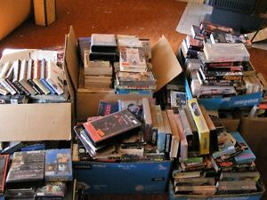 approx 1000 VHS movies