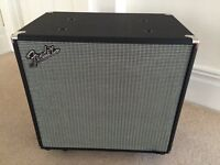 "Fender Rumble 15"" bass cabinet"
